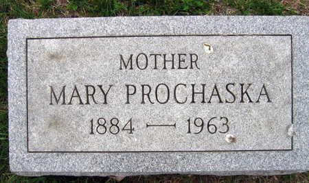PROCHASKA, MARY F. - Linn County, Iowa   MARY F. PROCHASKA