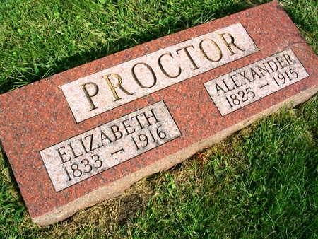 PROCTOR, ALEXANDER - Linn County, Iowa | ALEXANDER PROCTOR