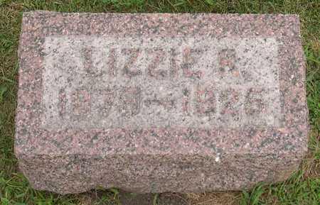 PROSSER, LIZZIE R. - Linn County, Iowa | LIZZIE R. PROSSER