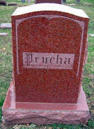 PRUCHA, FAMILY STONE - Linn County, Iowa | FAMILY STONE PRUCHA