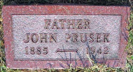 PRUSEK, JOHN - Linn County, Iowa | JOHN PRUSEK