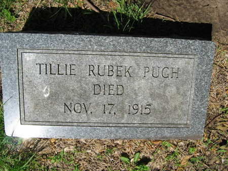 RUBEK PUGH, TILLIE - Linn County, Iowa | TILLIE RUBEK PUGH