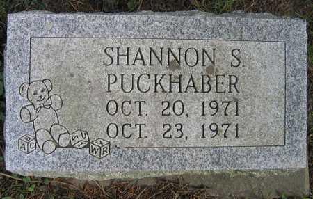 PUCKHABER, SHANNON S. - Linn County, Iowa   SHANNON S. PUCKHABER