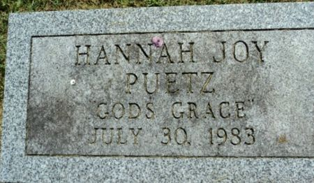 PUETZ, HANNAH JOY - Linn County, Iowa | HANNAH JOY PUETZ