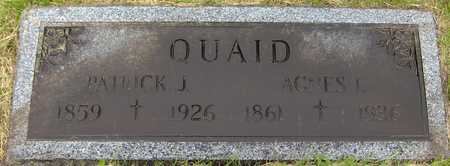 QUAID, PATRICK J. - Linn County, Iowa | PATRICK J. QUAID