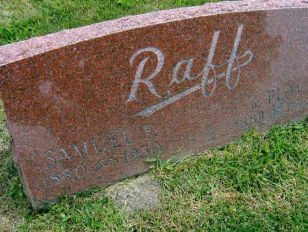RAFF, SAMUEL F. - Linn County, Iowa | SAMUEL F. RAFF