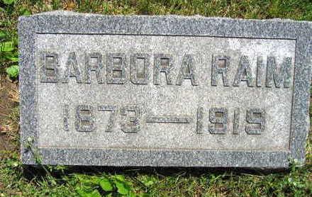 RAIM, BARBORA - Linn County, Iowa | BARBORA RAIM
