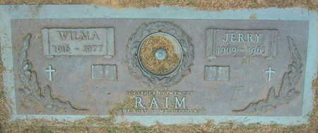RAIM, WILMA - Linn County, Iowa | WILMA RAIM