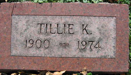 RAIM, TILLIE K. - Linn County, Iowa | TILLIE K. RAIM