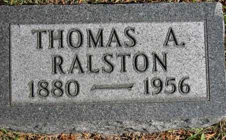 RALSTON, THOMAS A. - Linn County, Iowa | THOMAS A. RALSTON