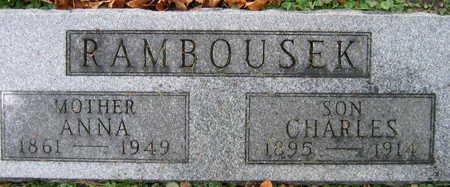 RAMBOUSEK, CHARLES - Linn County, Iowa | CHARLES RAMBOUSEK