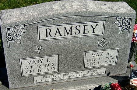 RAMSEY, MAX A. - Linn County, Iowa | MAX A. RAMSEY