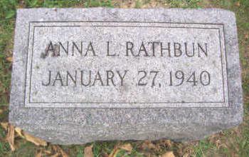RATHBUN, ANNA L. - Linn County, Iowa | ANNA L. RATHBUN