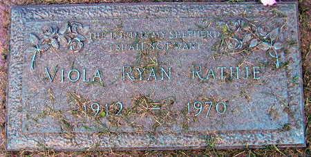 RYAN RATHJE, VIOLA - Linn County, Iowa | VIOLA RYAN RATHJE