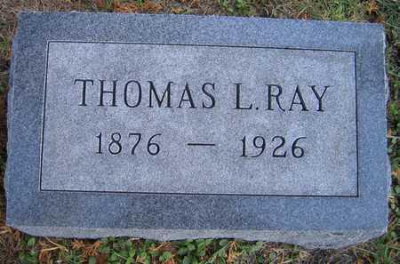 RAY, THOMAS L. - Linn County, Iowa   THOMAS L. RAY