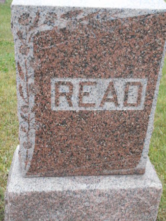 READ, FAMILY STONE - Linn County, Iowa | FAMILY STONE READ