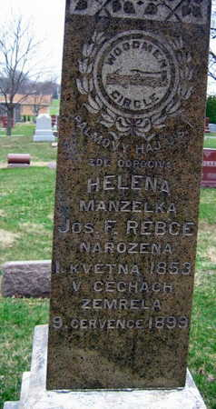 REBCE, HELENA - Linn County, Iowa | HELENA REBCE