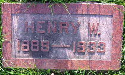 REBEC, HENRY W. - Linn County, Iowa | HENRY W. REBEC