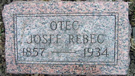 REBEC, JOSEF - Linn County, Iowa | JOSEF REBEC