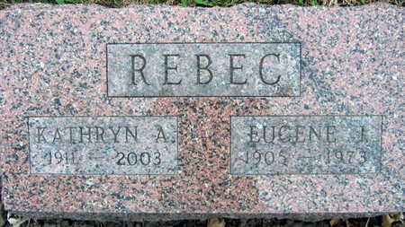 REBEC, EUGENE - Linn County, Iowa | EUGENE REBEC