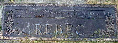REBEC, RUFUS - Linn County, Iowa | RUFUS REBEC