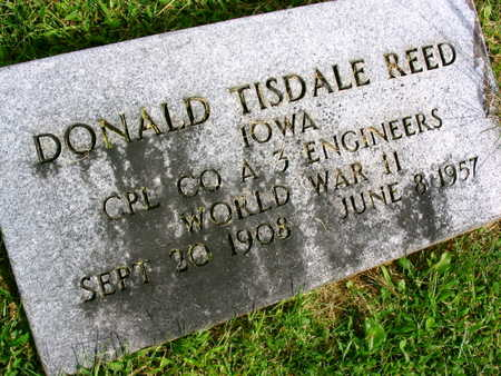 REED, DONALD TISDALE - Linn County, Iowa | DONALD TISDALE REED
