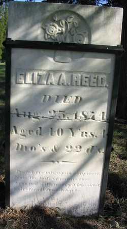 REED, ELIZA A. - Linn County, Iowa | ELIZA A. REED