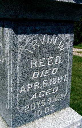 REED, IRVIN W. - Linn County, Iowa   IRVIN W. REED