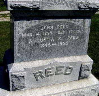 REED, AUGUSTA S. - Linn County, Iowa | AUGUSTA S. REED