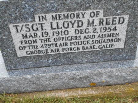 REED, LLOYD M. - Linn County, Iowa | LLOYD M. REED