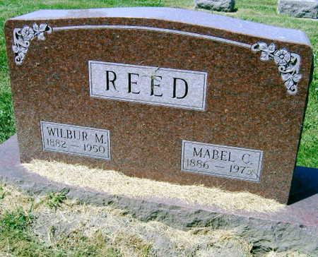 REED, WILBUR M. - Linn County, Iowa | WILBUR M. REED