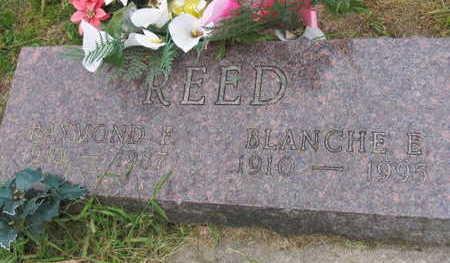 REED, BLANCHE E. - Linn County, Iowa | BLANCHE E. REED
