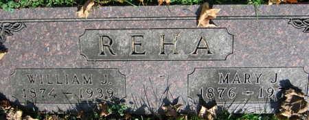REHA, WILLIAM J. - Linn County, Iowa | WILLIAM J. REHA