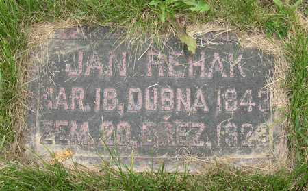 REHAK, JAN - Linn County, Iowa   JAN REHAK