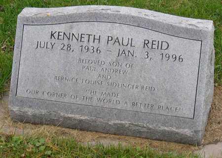 REID, KENNETH PAUL - Linn County, Iowa | KENNETH PAUL REID