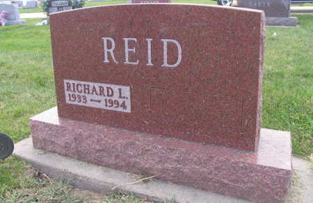 REID, RICHARD L. - Linn County, Iowa | RICHARD L. REID