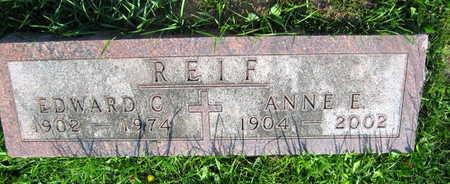 REIF, ANNA E. - Linn County, Iowa | ANNA E. REIF