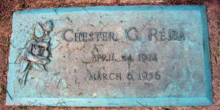 REJSA, CHESTER G. - Linn County, Iowa | CHESTER G. REJSA