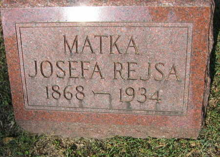 REJSA, JOSEFA - Linn County, Iowa | JOSEFA REJSA