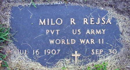 REJSA, MILO R. - Linn County, Iowa | MILO R. REJSA