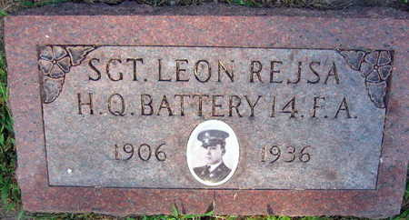 REJSA, SGT LEON - Linn County, Iowa | SGT LEON REJSA