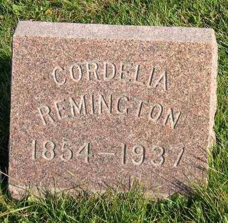 REMINGTON, CORDELIA - Linn County, Iowa | CORDELIA REMINGTON
