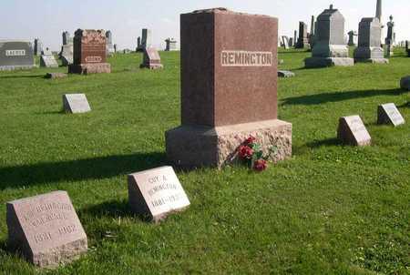 REMINGTON, FAMILY STONE - Linn County, Iowa | FAMILY STONE REMINGTON