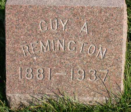 REMINGTON, GUY A. - Linn County, Iowa | GUY A. REMINGTON