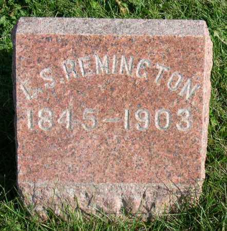 REMINGTON, L. S. - Linn County, Iowa | L. S. REMINGTON