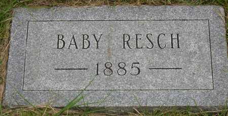 RESCH, BABY - Linn County, Iowa | BABY RESCH
