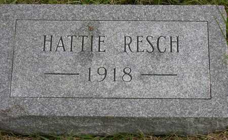 RESCH, HATTIE - Linn County, Iowa | HATTIE RESCH