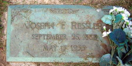 RESSLER, JOSEPH F. - Linn County, Iowa | JOSEPH F. RESSLER