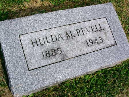REVELL, HULDA M. - Linn County, Iowa | HULDA M. REVELL
