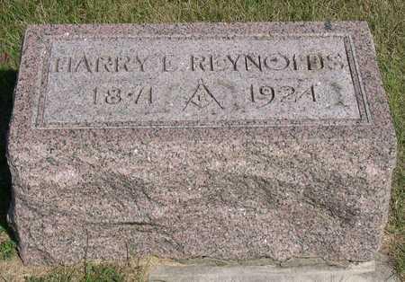 REYNOLDS, HARRY E. - Linn County, Iowa   HARRY E. REYNOLDS